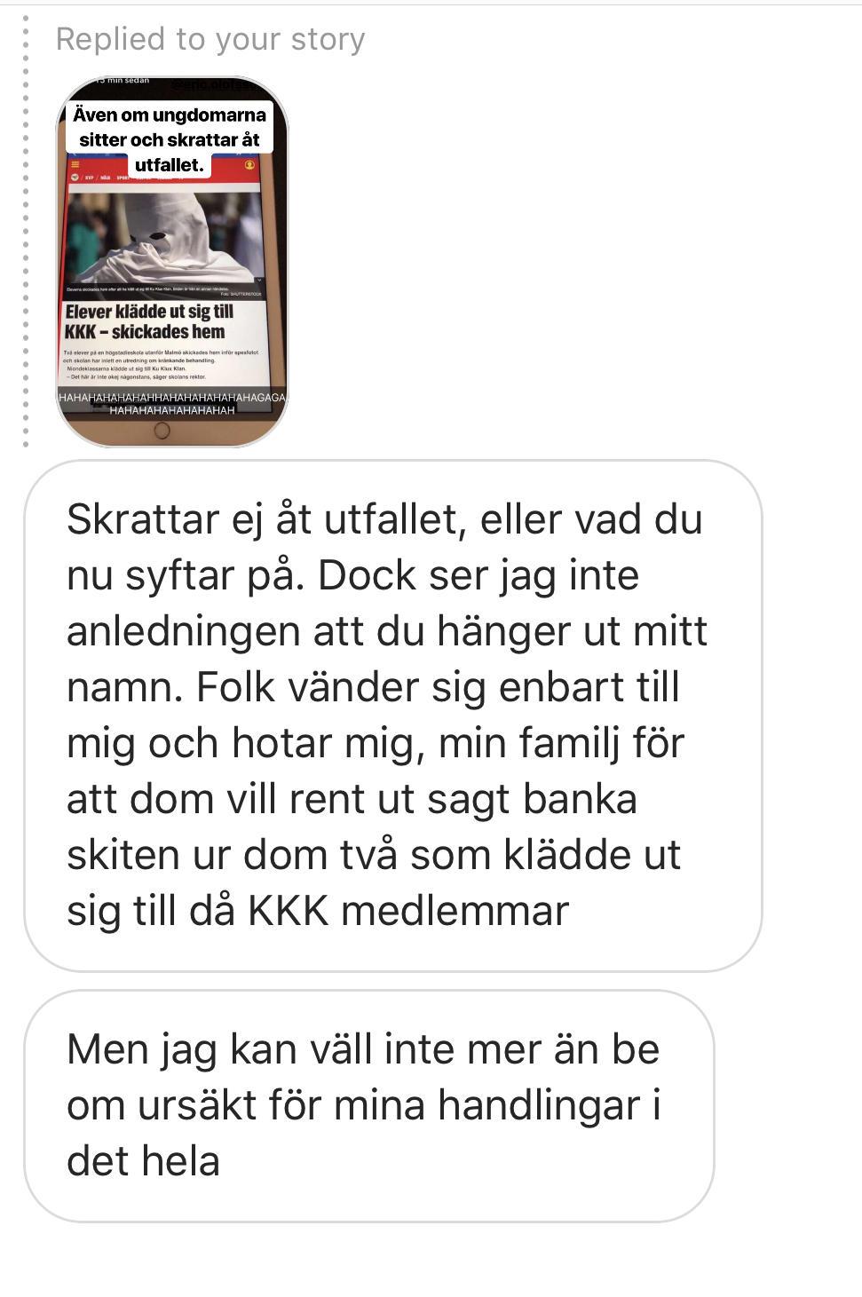 Lomma Pilängsskolan Sweden - Children dressed in KKK Outfits - FullSizeRender 3