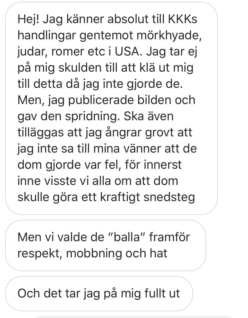 Lomma Pilängsskolan Sweden - Children dressed in KKK Outfits - FullSizeRender 8