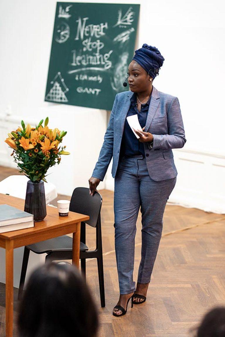 Lovette Jallow - Författare, föreläsare, entreprenör och prisad samhällsaktivist - lovette jallow